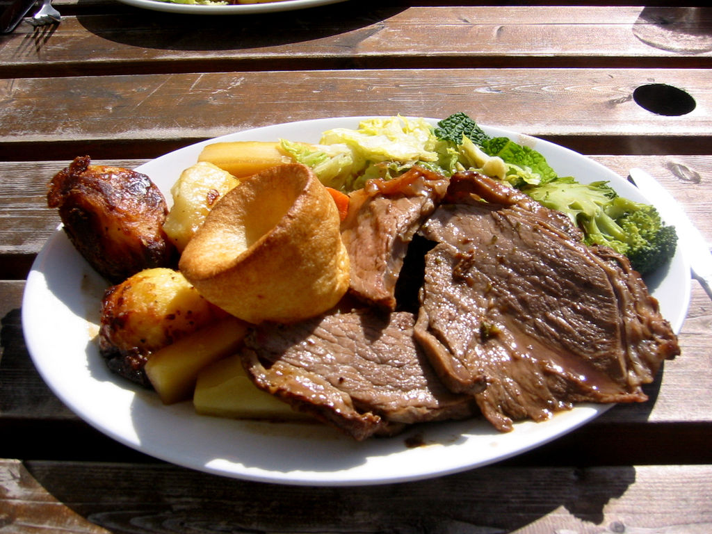 Sunday roast roast beef 1